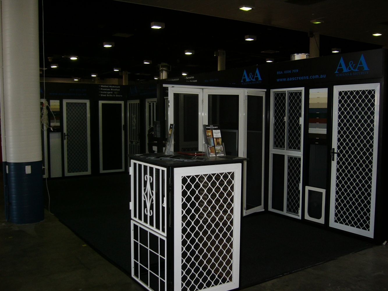 Colonial Cast Doors In Brisbane Aa Security Amp Screens